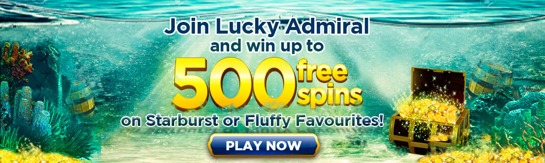 free spins UK at Lucky Admiral