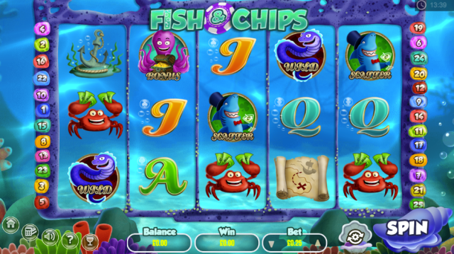 fish and chips slot