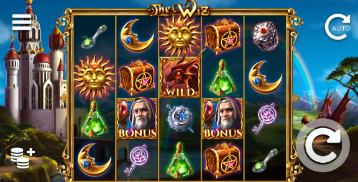 the wiz slots